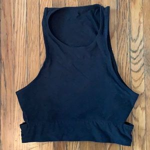 Outdoor Voices Charcoal Top
